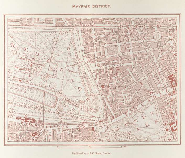 Mayfair - early map