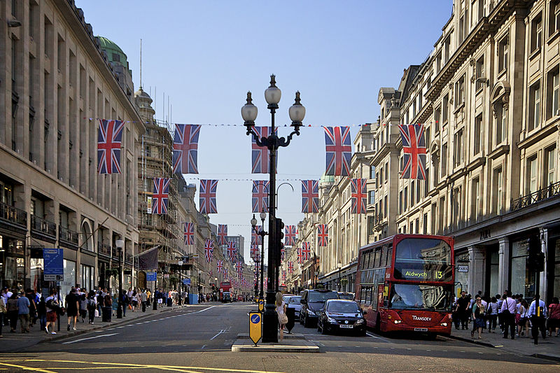 Regent Street Mayfair London