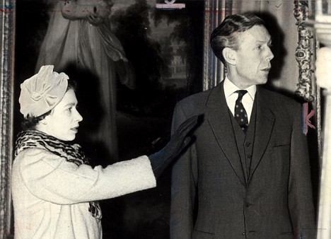 Anthony Blunt and the Queen