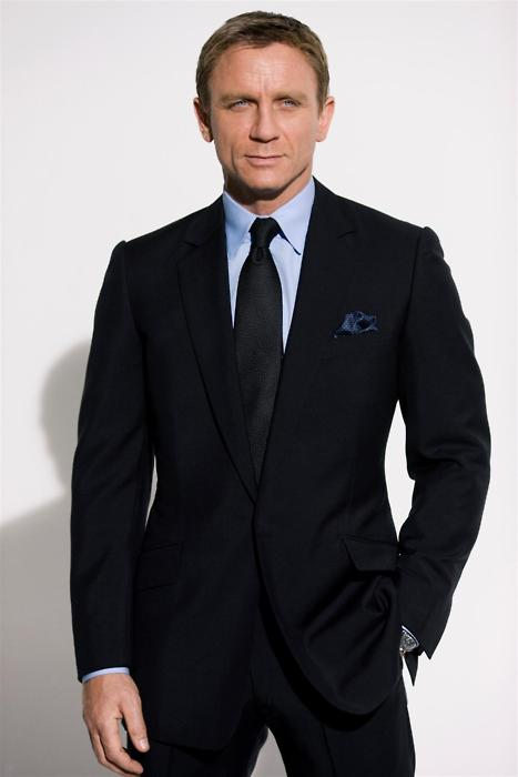 james bond in bespoke suit