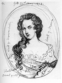 Aphra Behn by George Scharf
