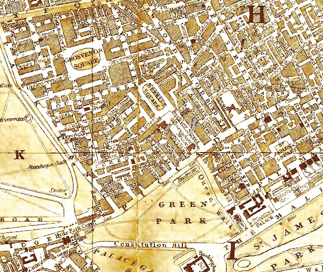Mayfair map 1885