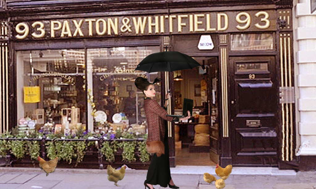 Paxton & Whitfield cheese shop St James's