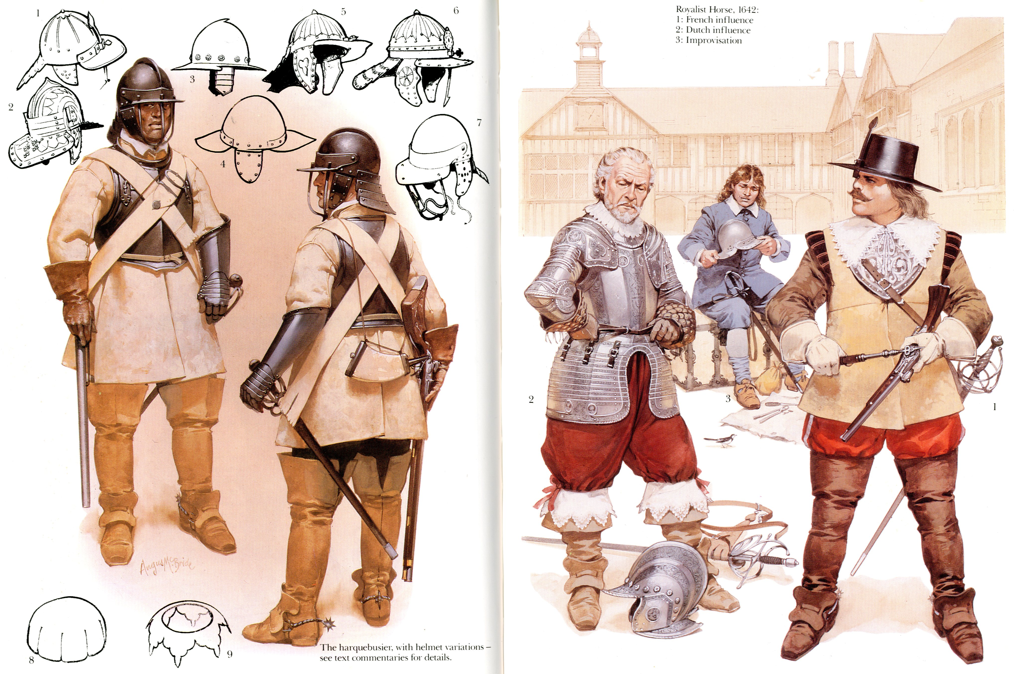 roundheads and cavaliers