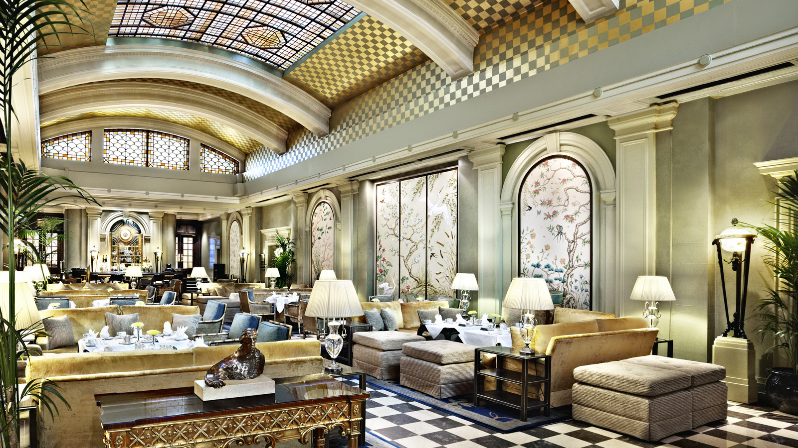 The Palm Court Lounge